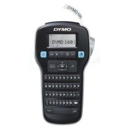 Drukarka etykiet DYMO LabelManager LM 160 + taśma 180 DPI szer. do 12 mm S0946320
