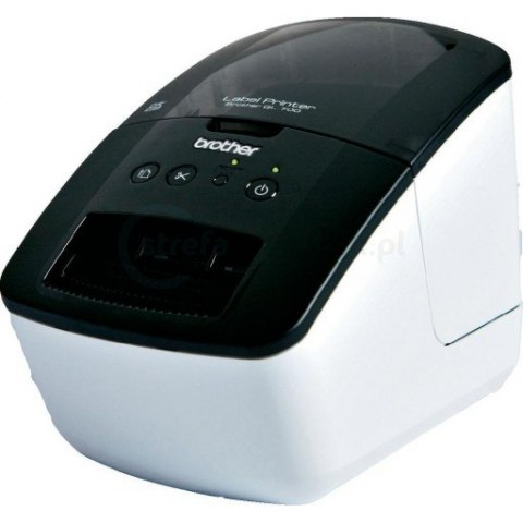 Drukarka etykiet Brother QL-700 300 DPI do 62 mm PC, Mac: USB