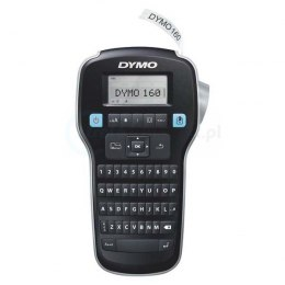Drukarka etykiet DYMO LabelManager LM 160 + zasilacz 180 DPI szer. do 12 mm S0946320