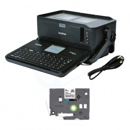 Drukarka etykiet Brother P-touch PT-D800W 360 DPI szer. do 36 mm PC, Mac: USB, WiFi