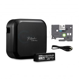 Drukarka etykiet Brother P-touch PT-P710BT Cube 180 DPI szer. do 24 mm PC, Mac: USB, WiFi