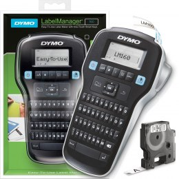 Drukarka etykiet DYMO LabelManager LM 160 180 DPI szer. do 12 mm S0946320