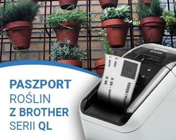drukarka Brother QL, paszport roślin