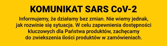 komunikat SARS CoV-2